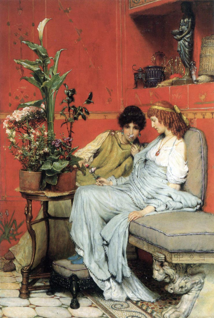 Penetralia - Alma-Tadema