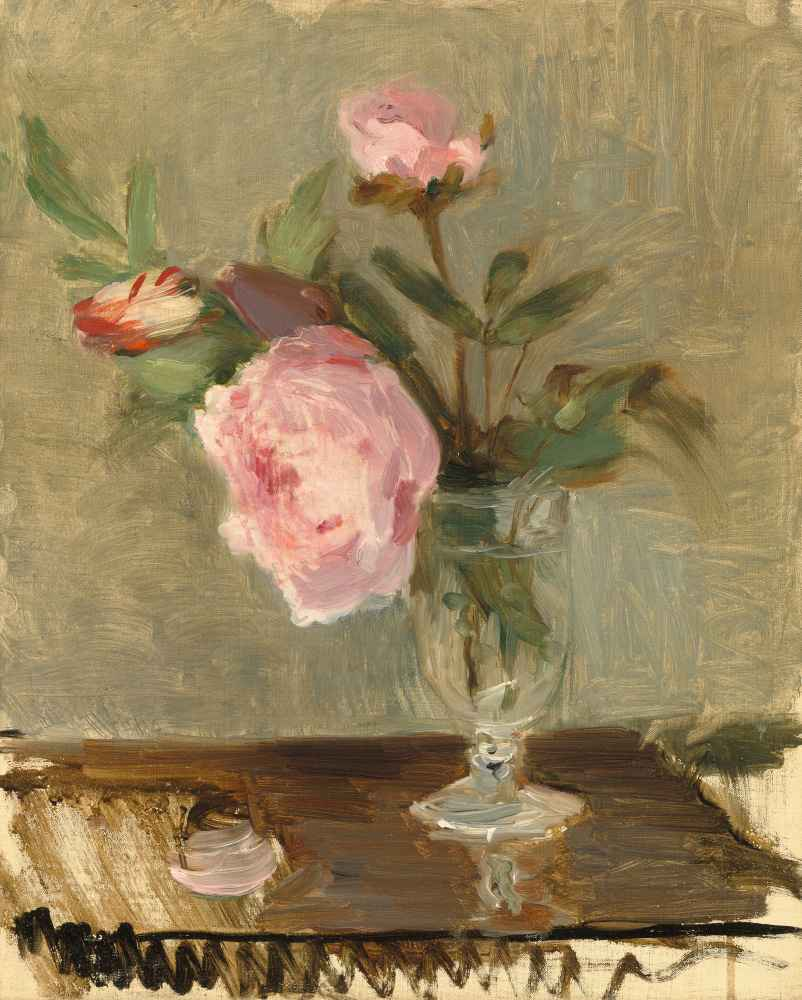 Peonies - Berthe Morisot