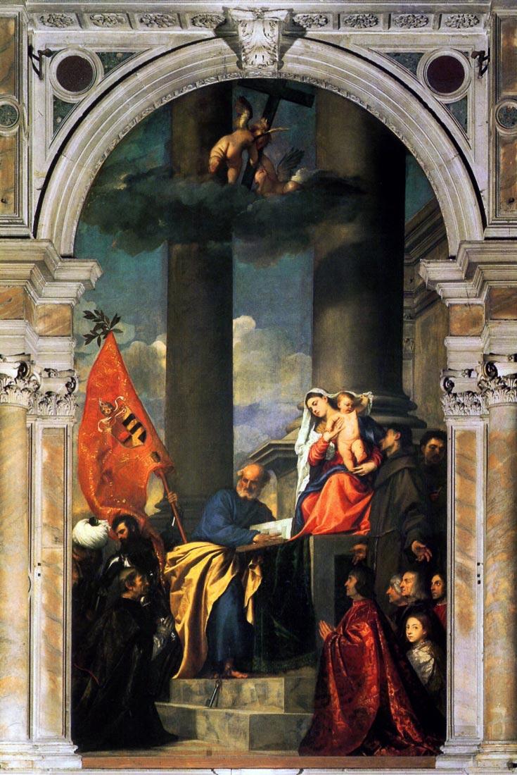 Pesaros Madonna - Titian