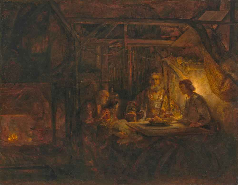 Philemon and Baucis - Rembrandt Harmenszoon van Rijn