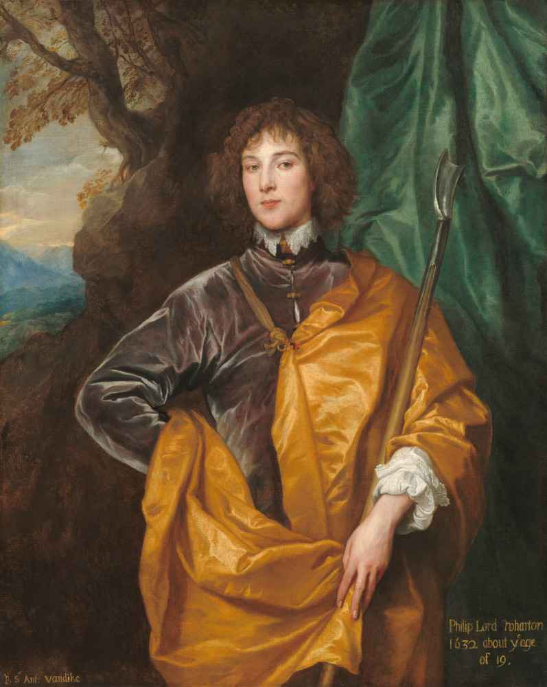 Philip, Lord Wharton - Antoon van Dyck