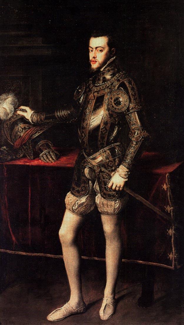 Philip II - Titian