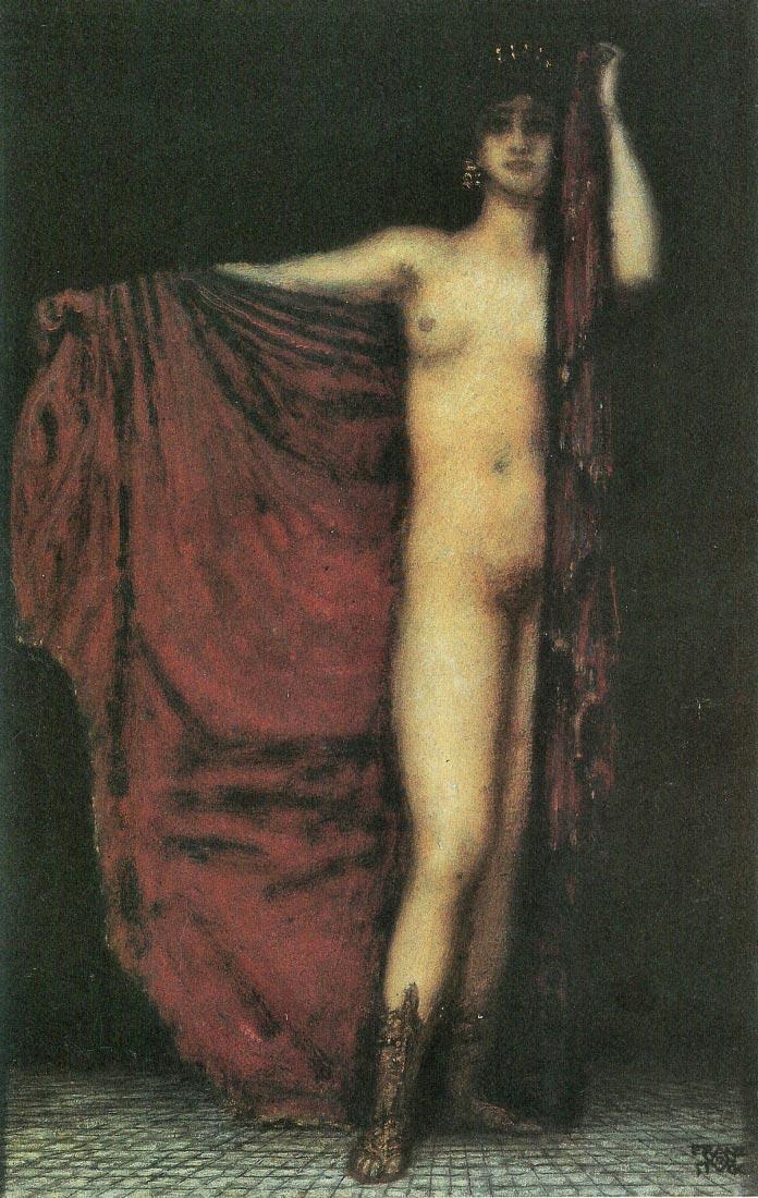 Phyrne - Franz von Stuck