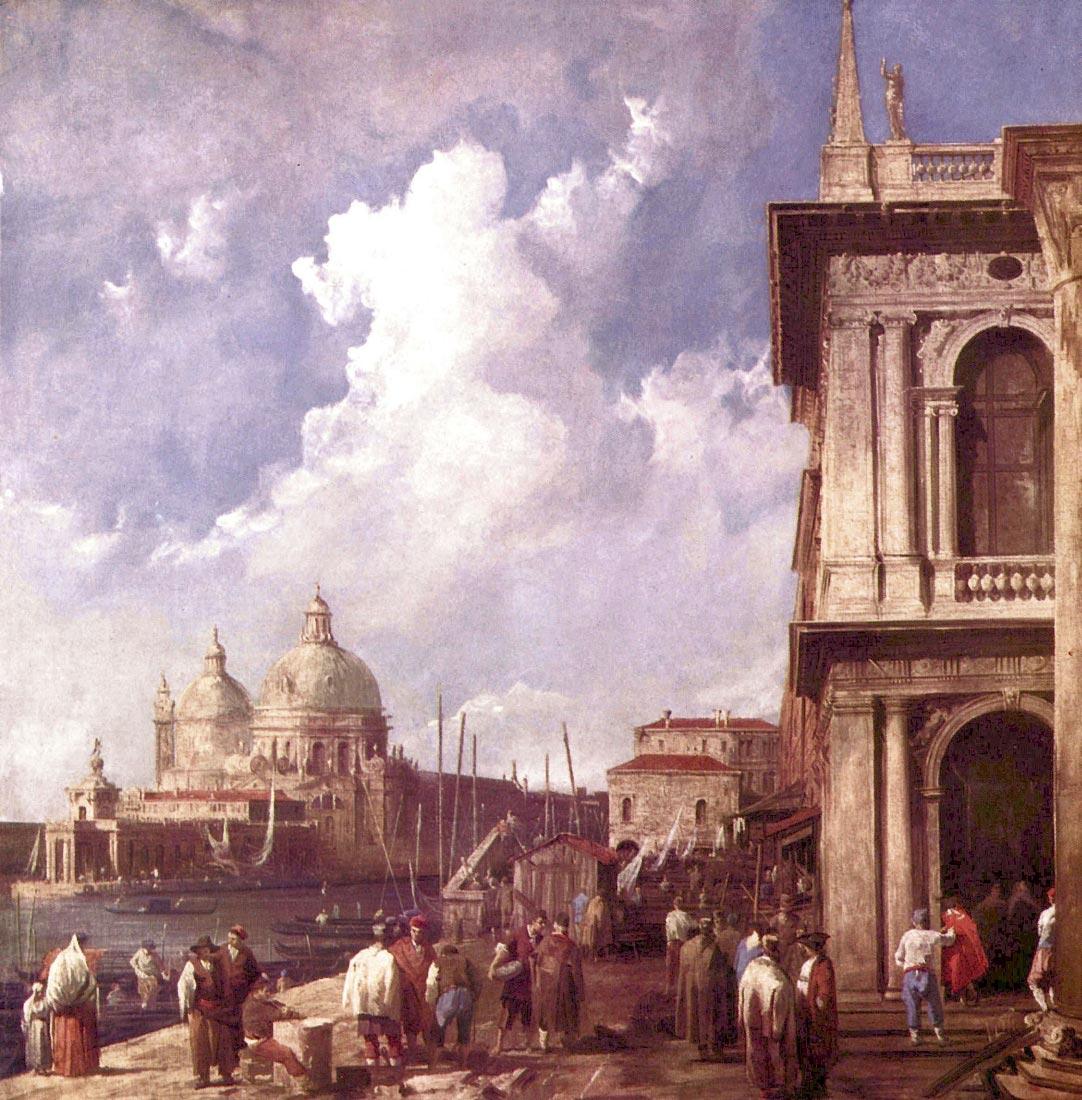 Piazza in Venice - Canaletto