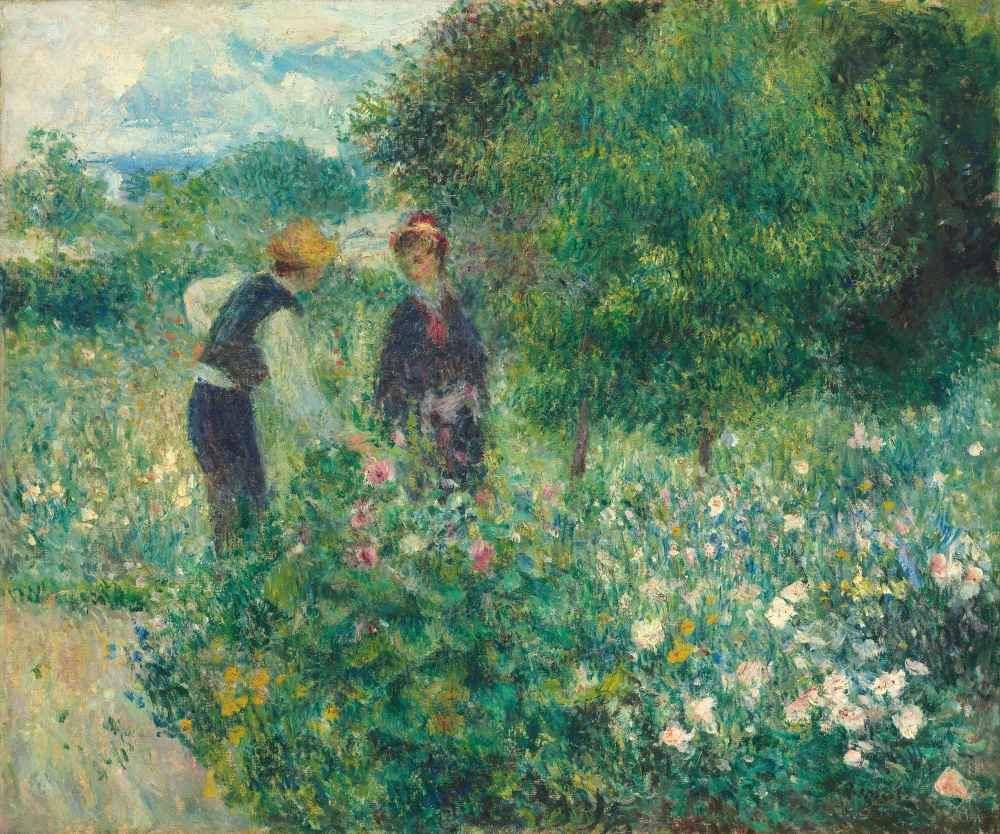 Picking Flowers - Auguste Renoir