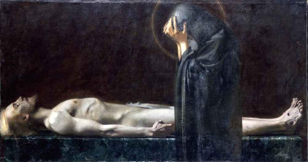 Pietà, 1891 - Franz von Stuck