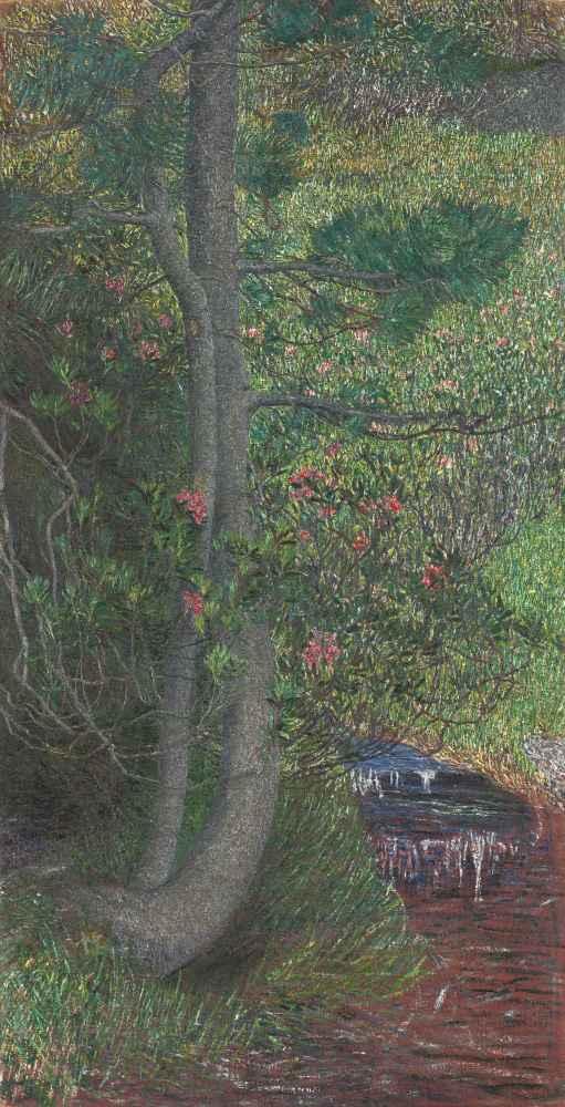 Pine Tree - Giovanni Segantini