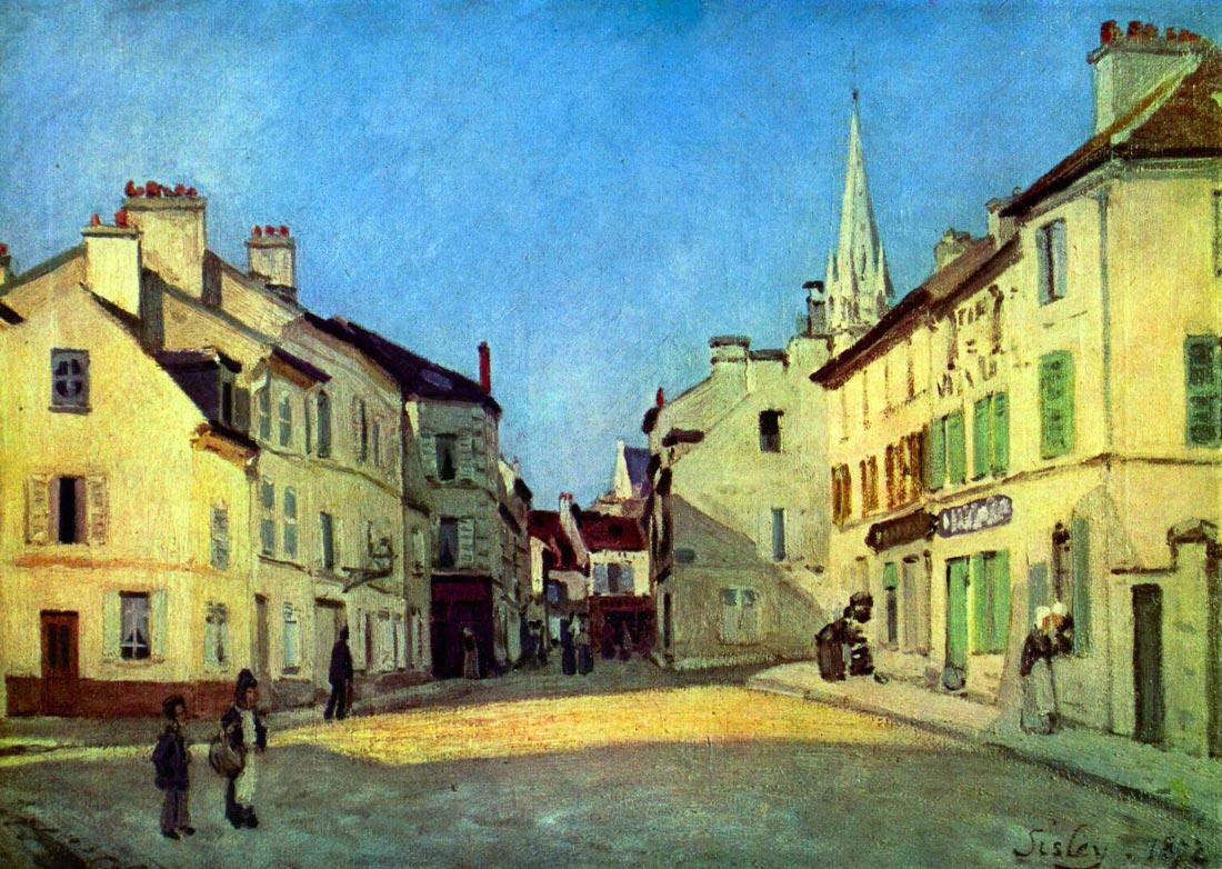 Place at Argenteuil - Sisley
