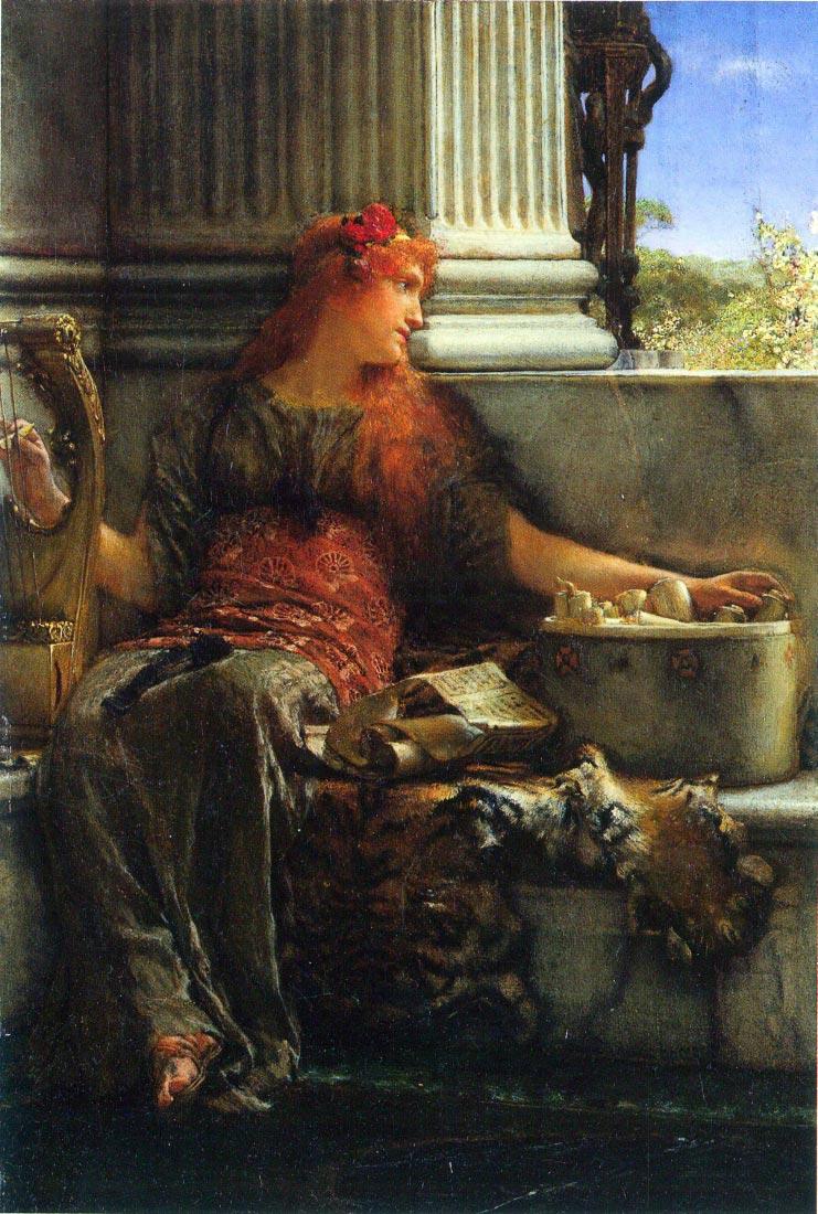 Poesie - Alma-Tadema
