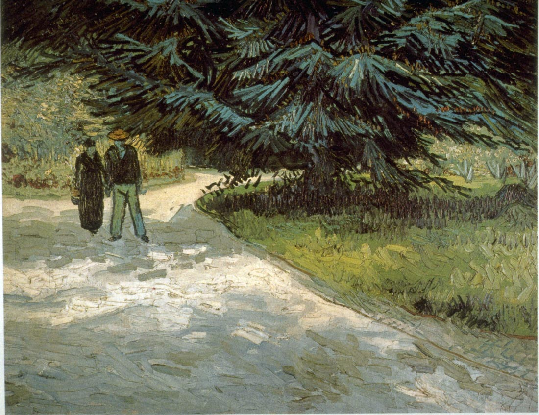 Poets Garden - Van Gogh