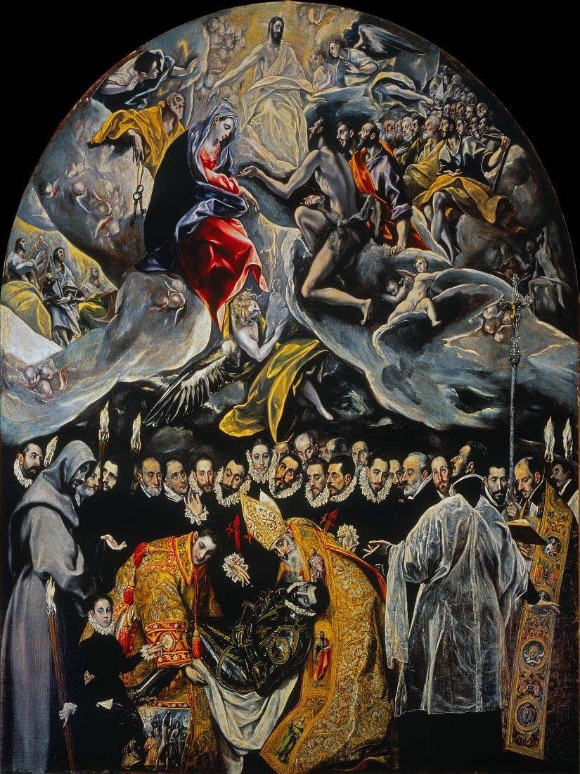 Pogrzeb hrabiego Orgaza - Greco