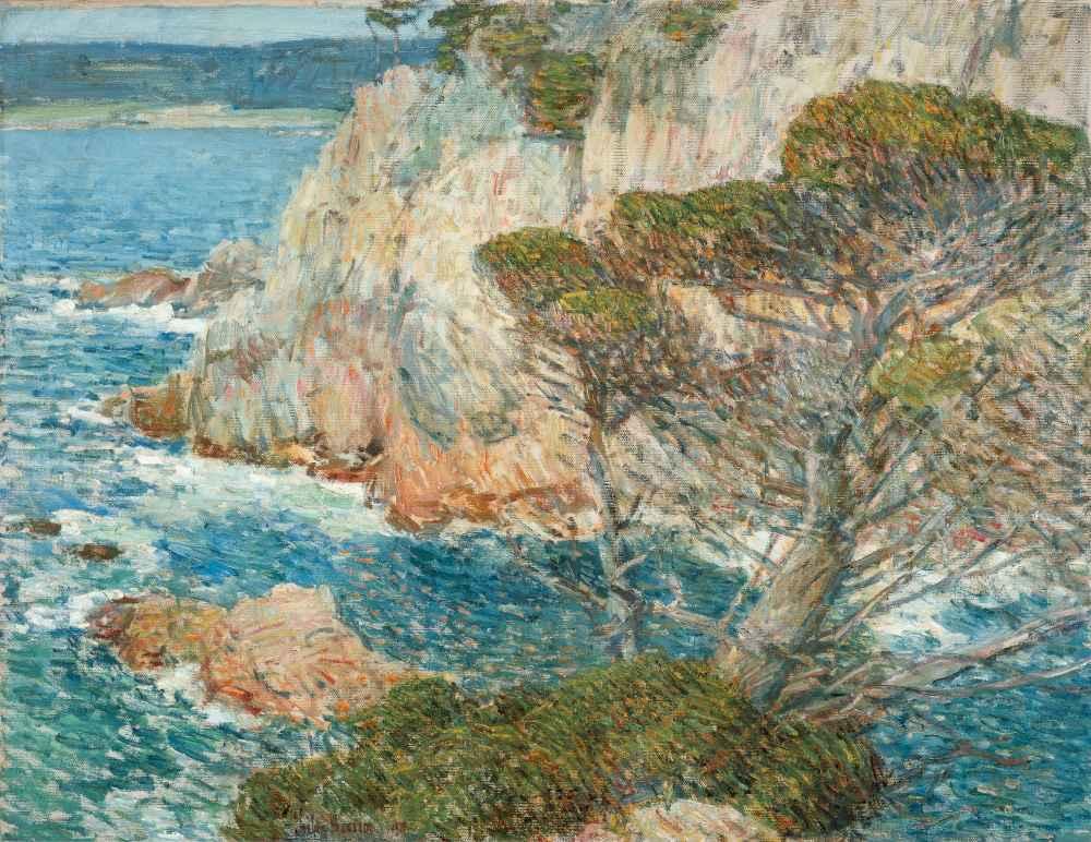 Point Lobos, Carmel - Childe Hassam