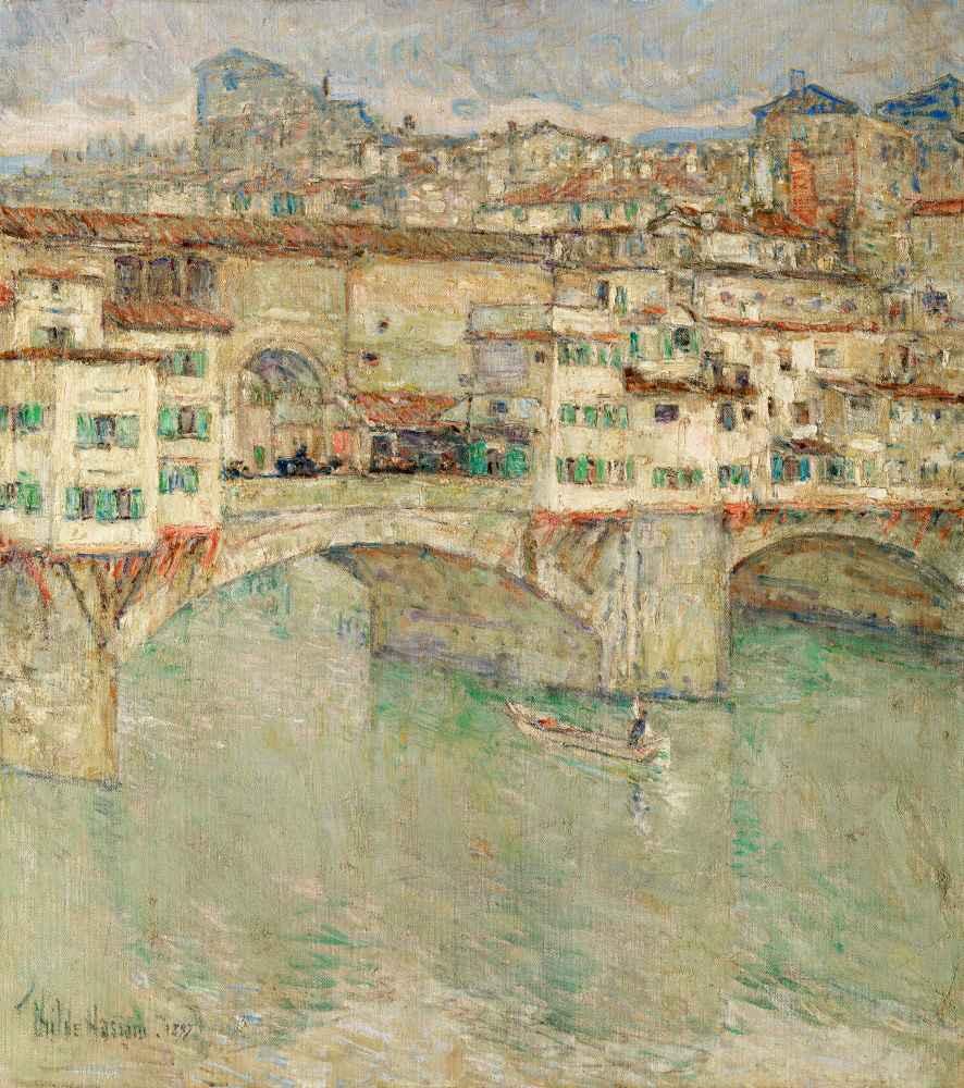 Ponte Vecchio - Childe Hassam