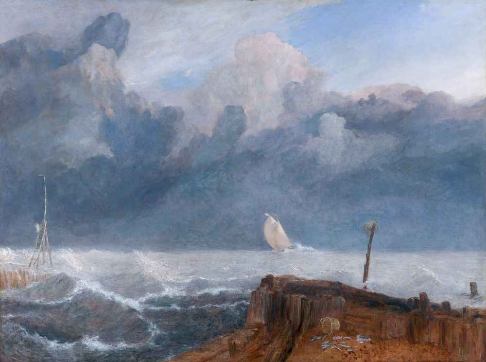 Port Ruysdael - Joseph Mallord William Turner