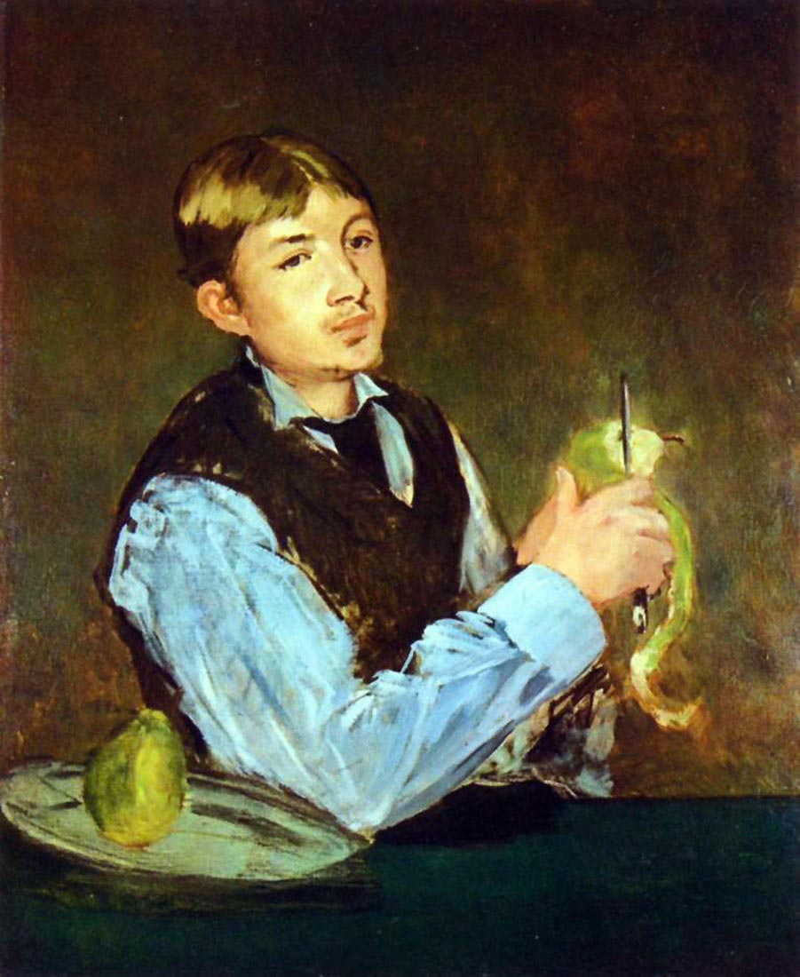 Portait of Leon Leenhoff - Manet