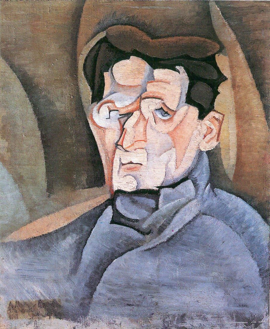 Portrait Maurice Raynal - Juan Gris