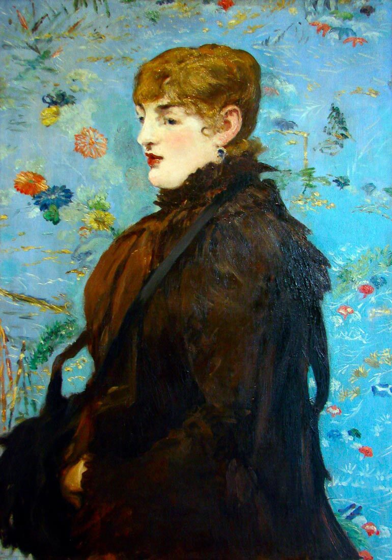 Portrait de Méry Laurent, 1882 - Manet