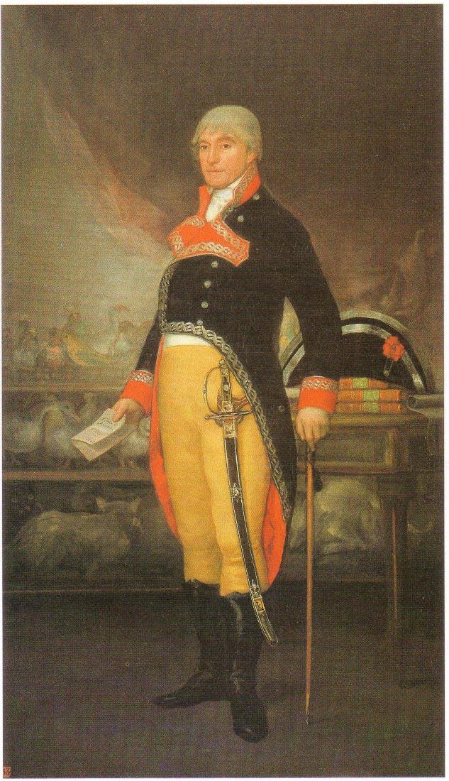 Portrait du naturaliste Felix de Azara 1805 - Goya