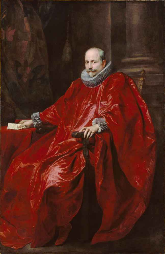 Portrait of Agostino Pallavicini - Antoon van Dyck