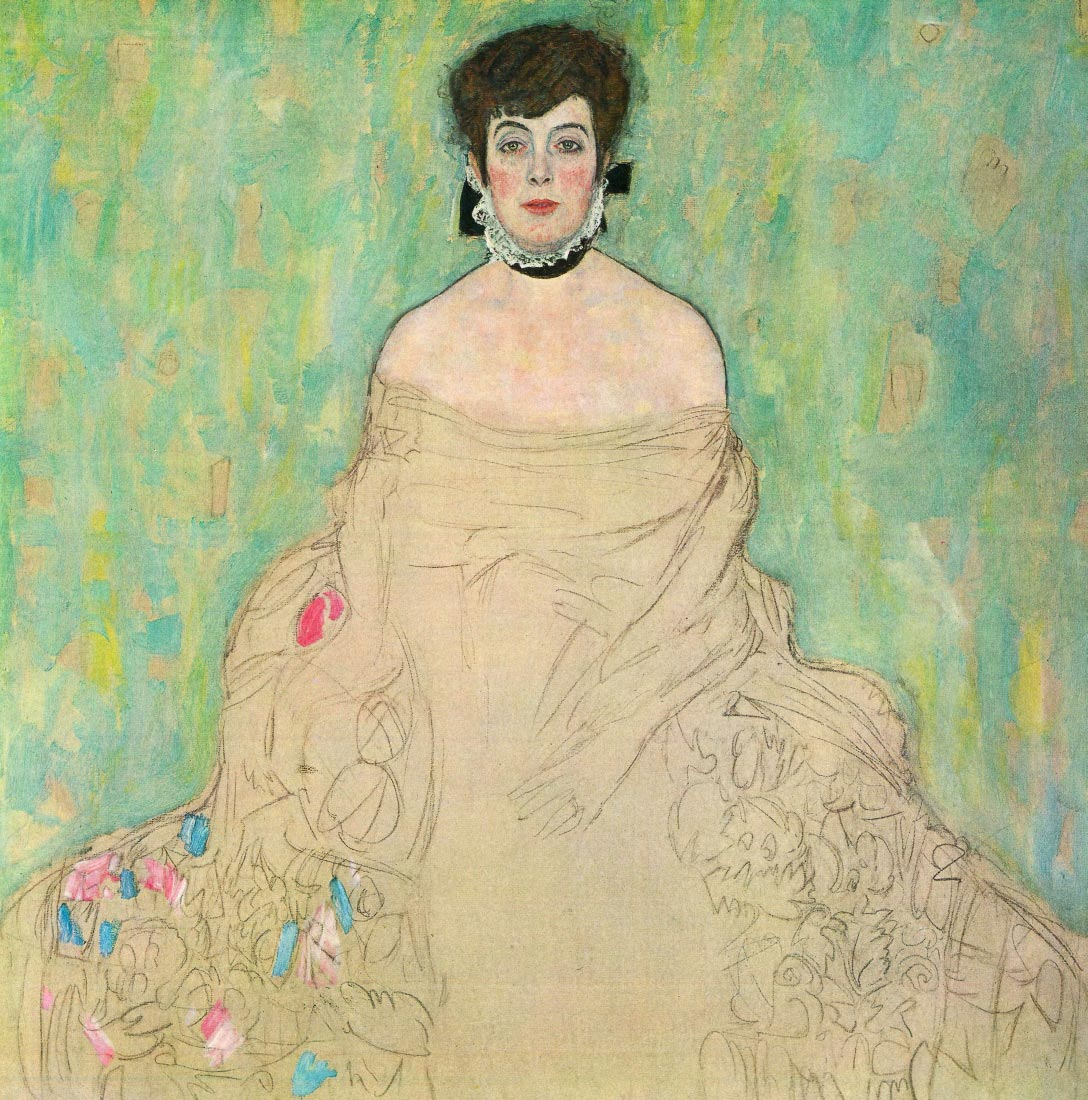 Portrait of Amalie Zuckerkandl - Klimt