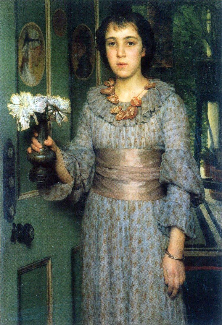 Portrait of Anna Alma-Tadema - Alma-Tadema
