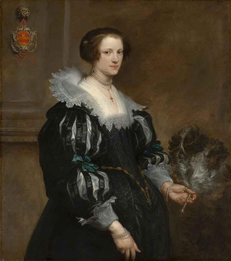 Portrait of Anna Wake - Antoon van Dyck