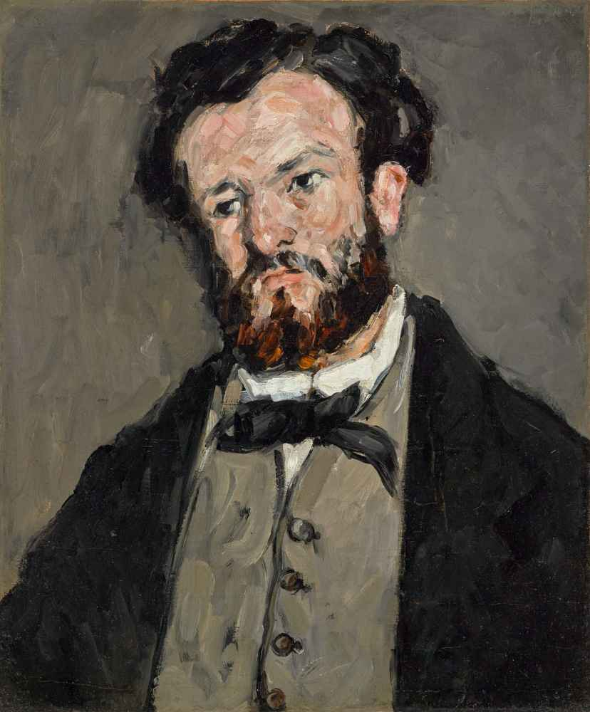 Portrait of Anthony Valabrègue - Paul Cezanne