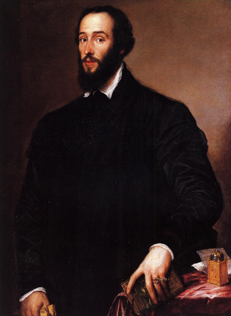 Portrait of Antoine Perrenot - Titian