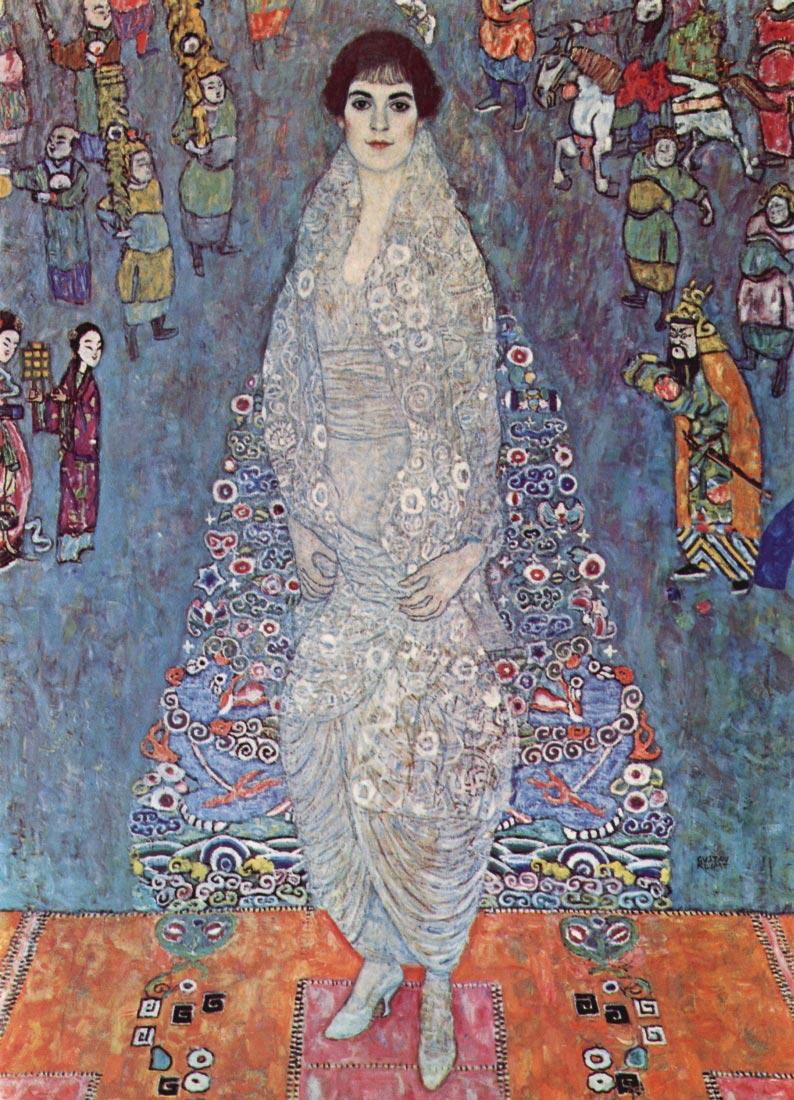 Portrait of Baroness Elisabeth Bachofen - Klimt