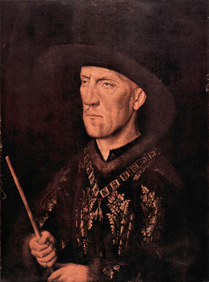 Portrait of Baudouin de Lannoy - Jan Van Eyck