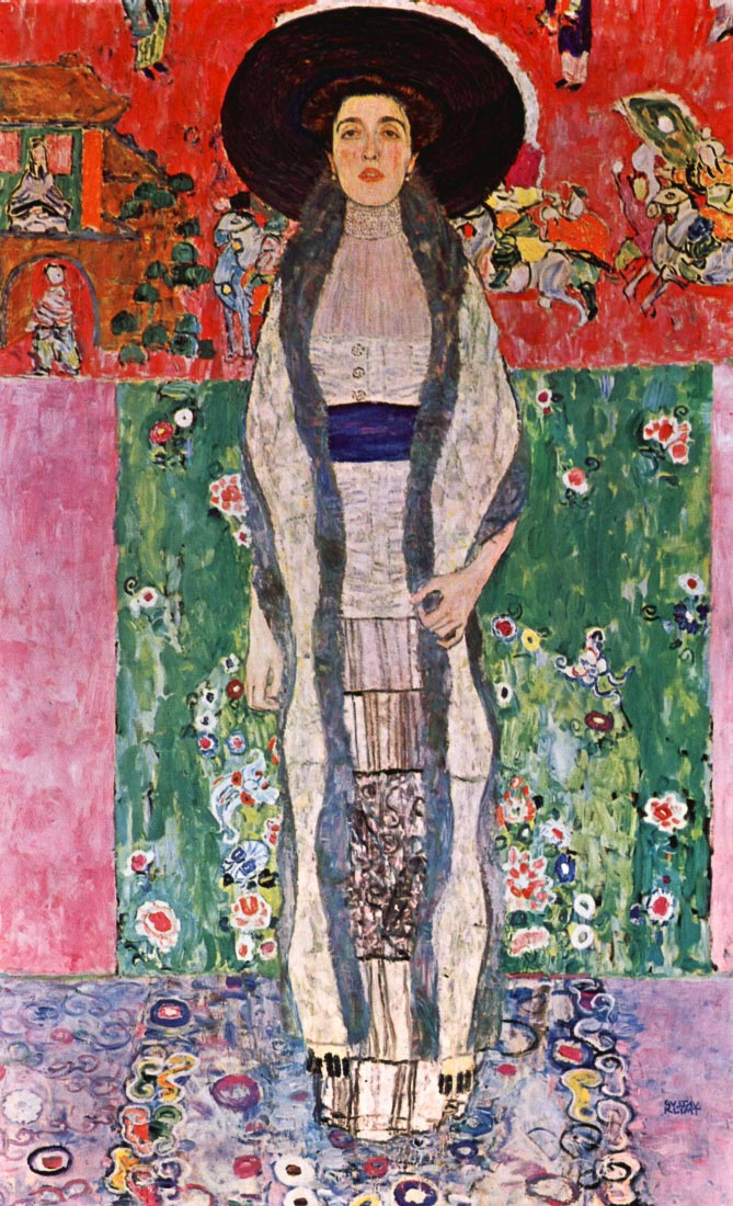 Portrait of Bloch-Bauer - Klimt