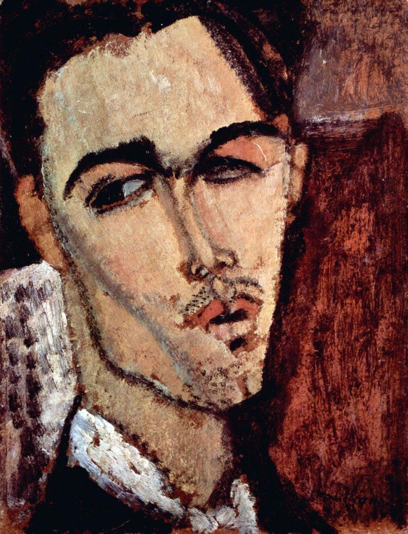 Portrait of Celso Laga - Modigliani