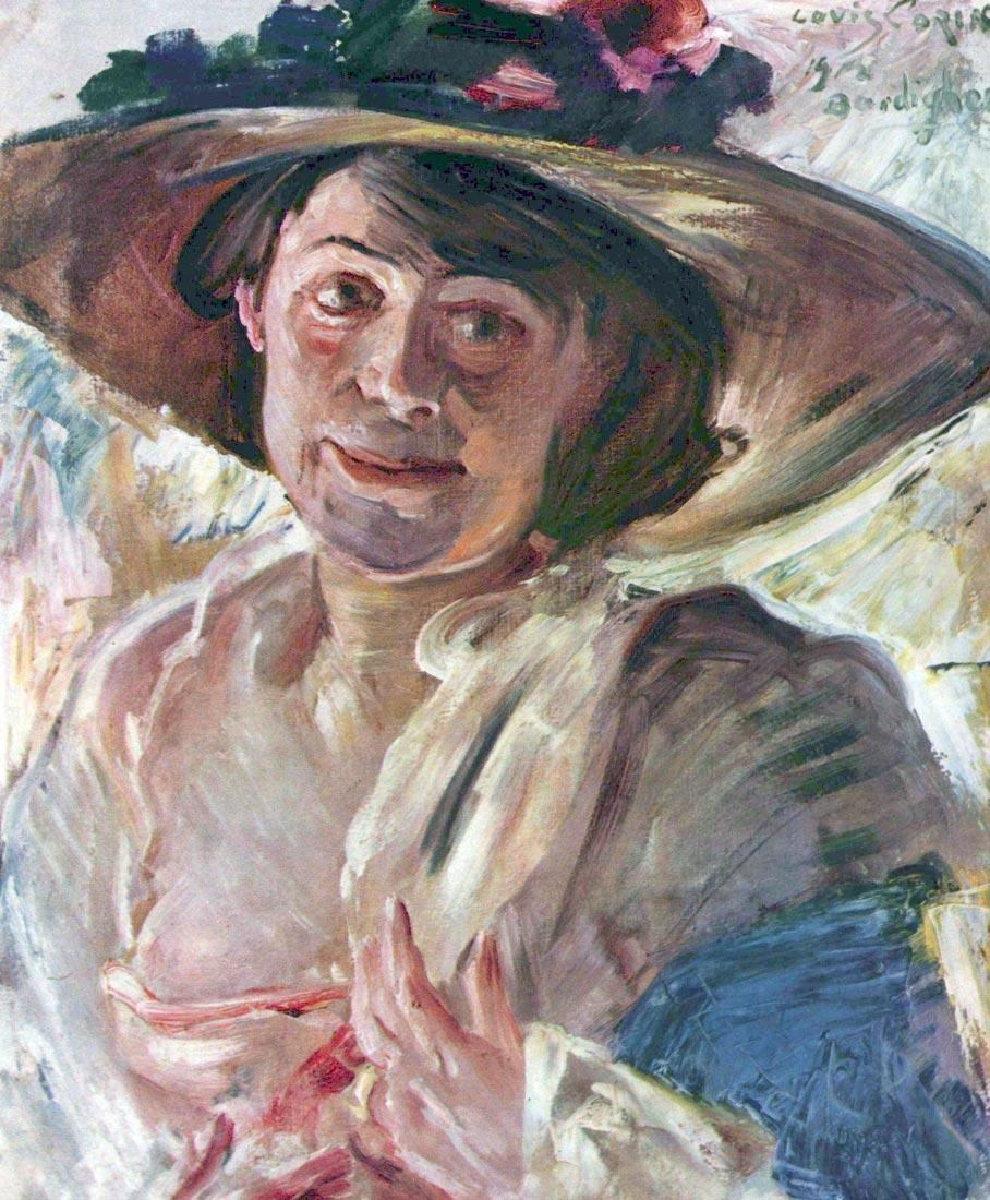 Portrait of Charlotte Berend-Corinth - Lovis Corinth