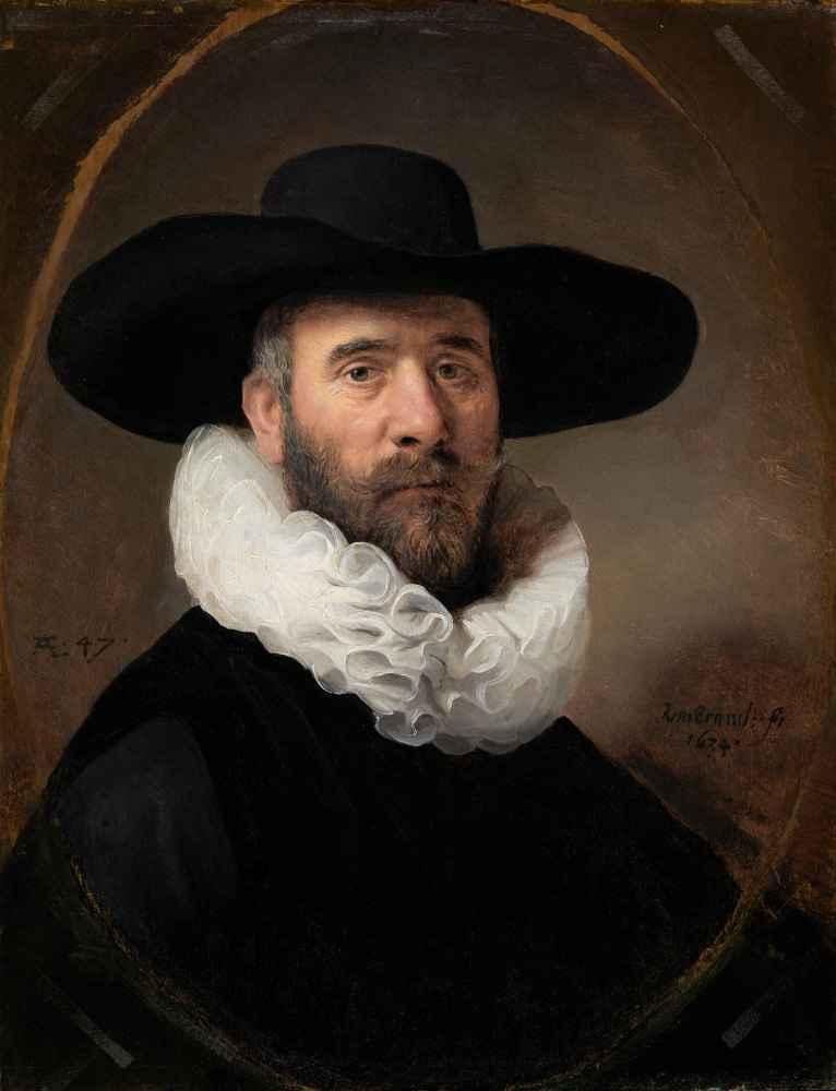 Portrait of Dirck Jansz. Pesser - Rembrandt Harmenszoon van Rijn