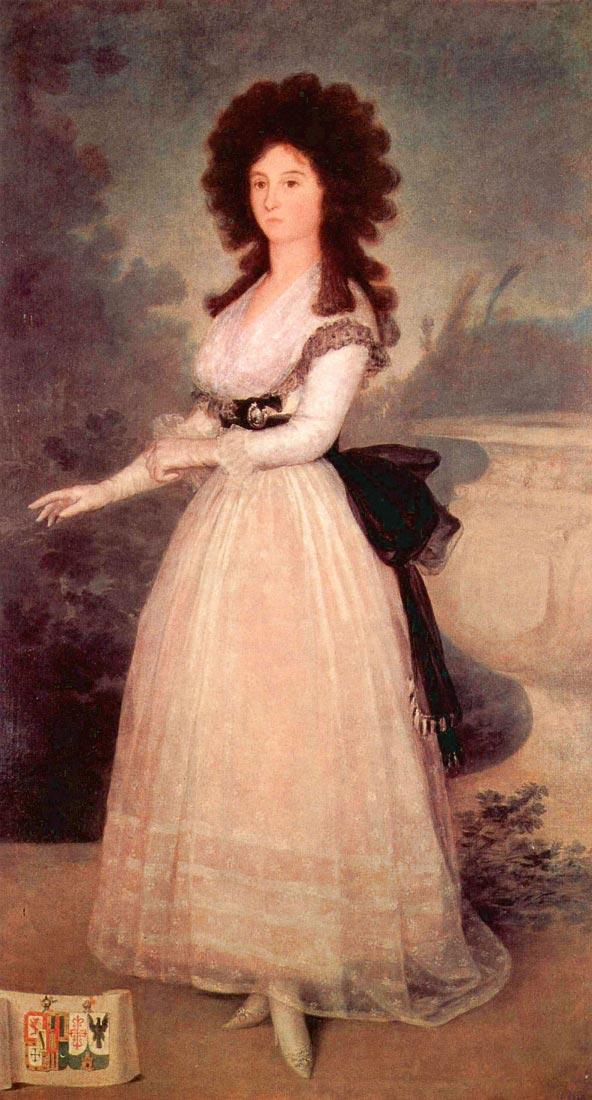 Portrait of Dona Tadea Arias de Enriquez - Goya