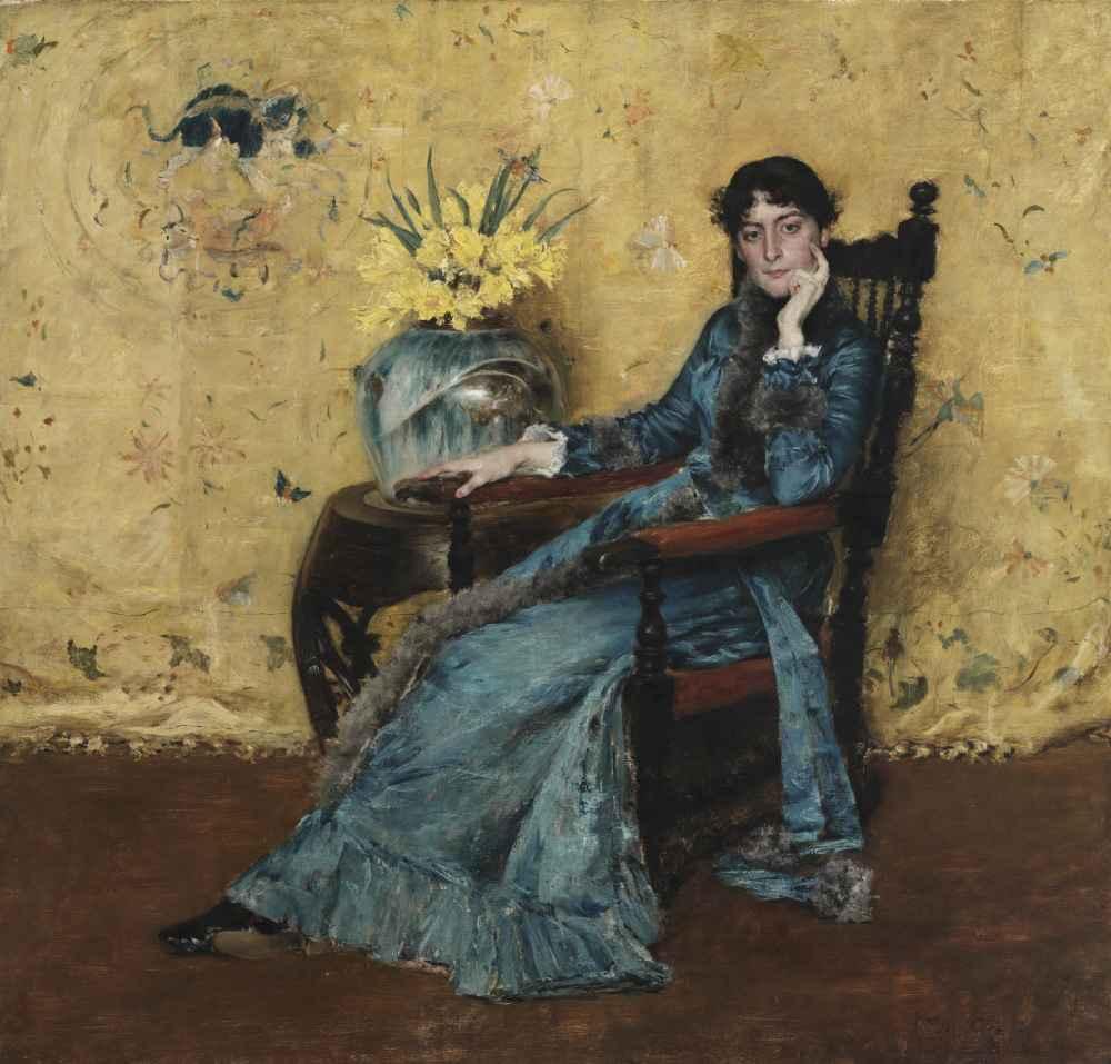 Portrait of Dora Wheeler - William Merritt Chase