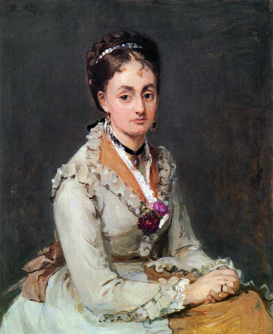 Portrait of Edma - Morisot
