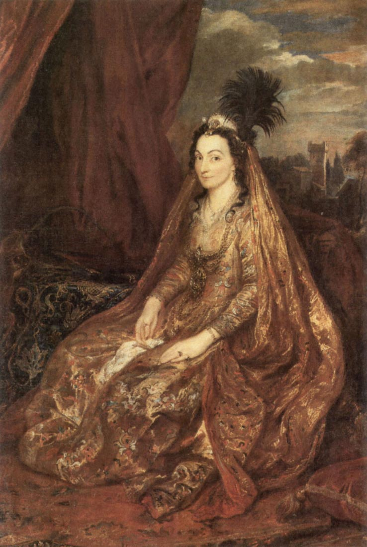 Portrait of Elisabeth Theresa - Van Dyck