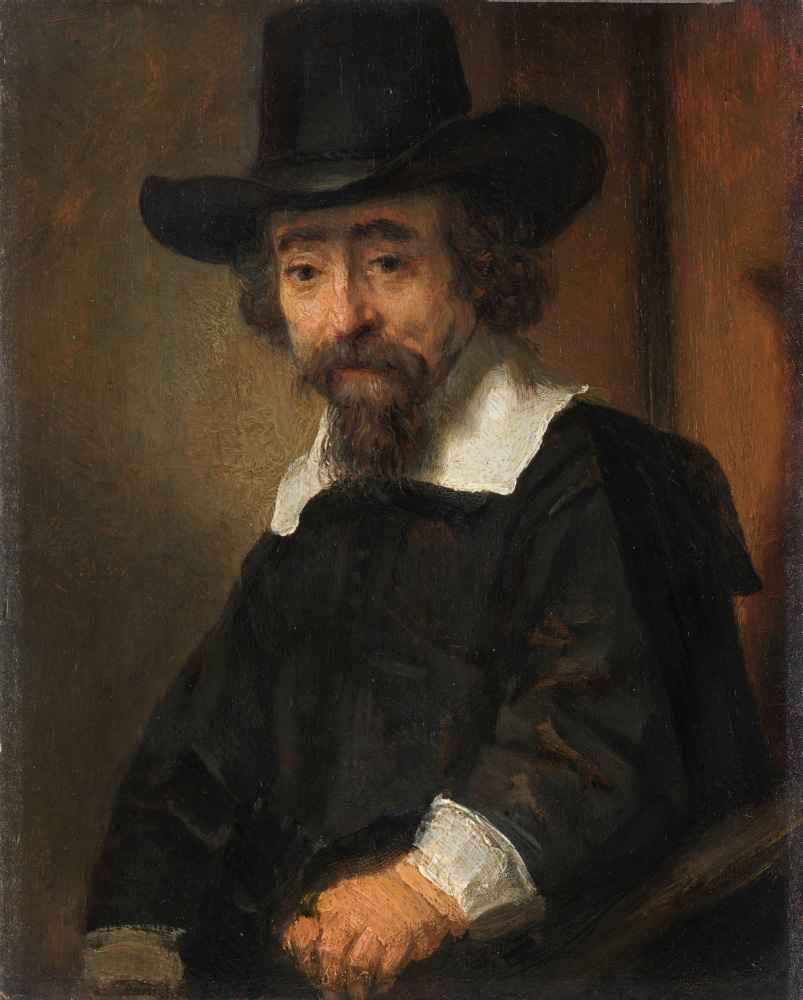 Portrait of Ephraim Bueno - Rembrandt Harmenszoon van Rijn