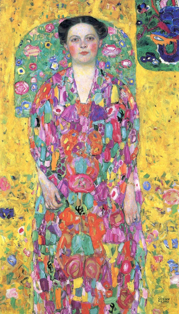 Portrait of Eugenia (Mada) Primavesi - Klimt
