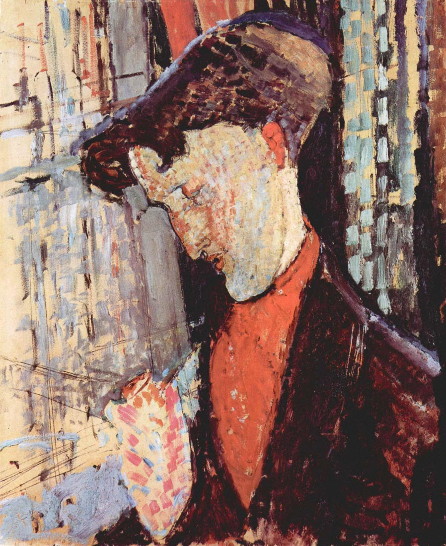 Portrait of Frank Burty Haviland - Modigliani