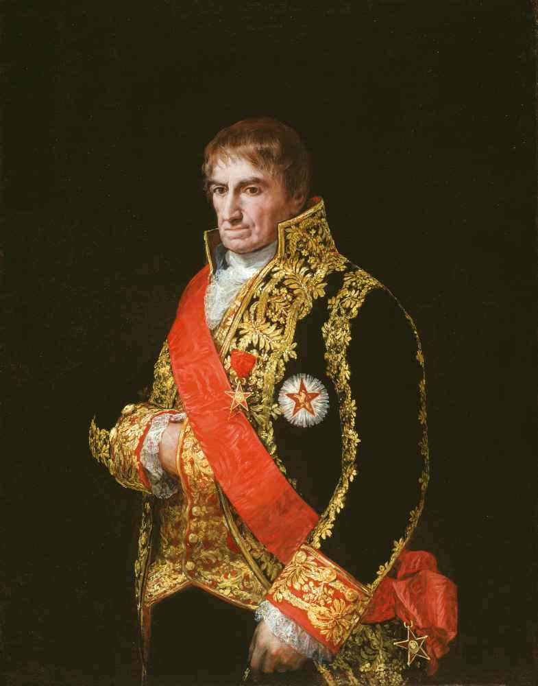 Portrait of General José Manuel Romero - Francisco Goya