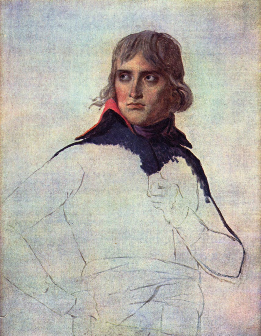 Portrait of General Napoleon Bonaparte - Jacques Louis David