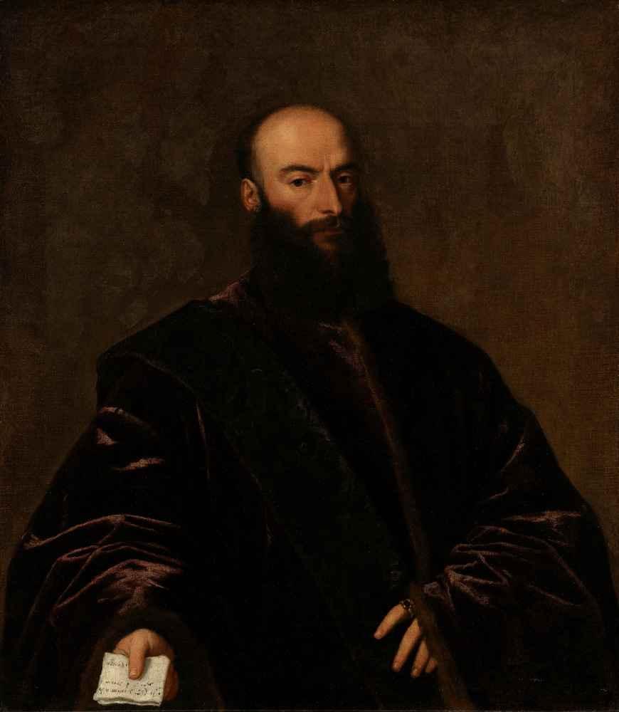 Portrait of Giacomo di Andrea Dolfin - Tycjan