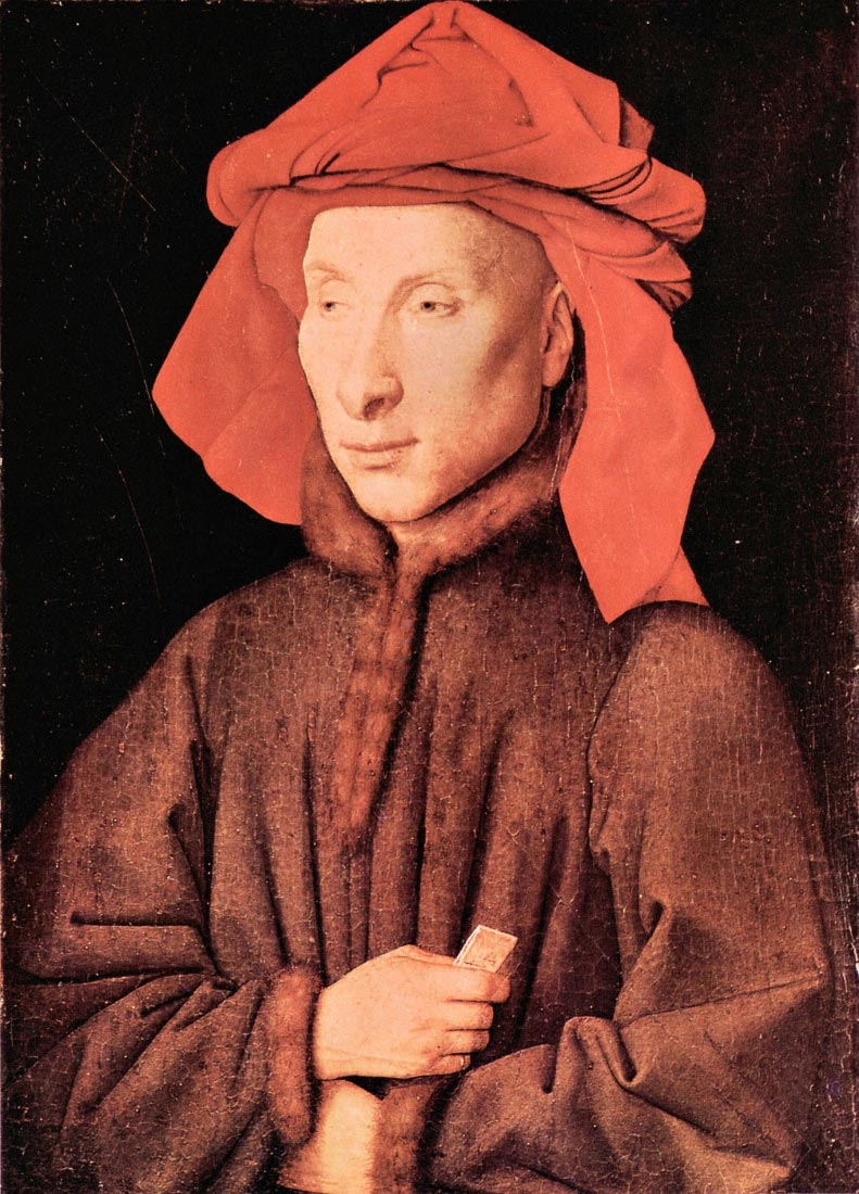 Portrait of Giovanni Arnolfini - Jan Van Eyck
