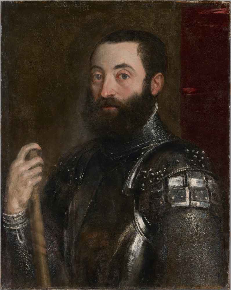 Portrait of Guidobaldo II della Rovere, Duke of Urbino - Tycjan
