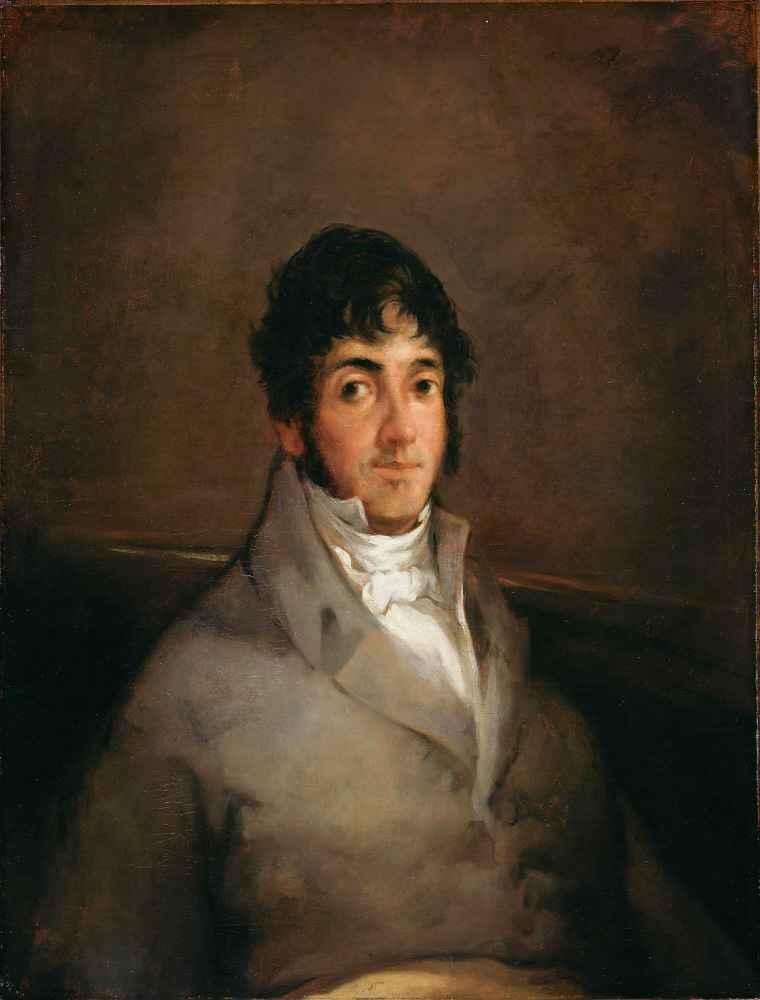 Portrait of Isidoro Maiquez - Francisco Goya