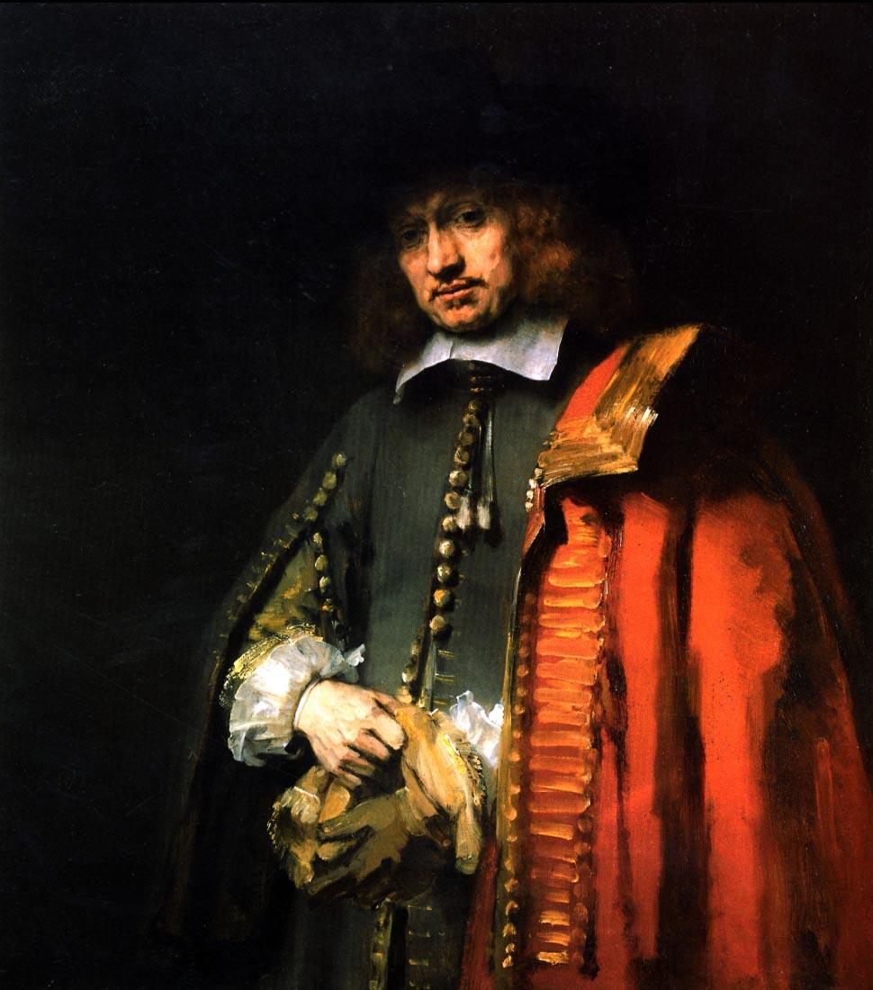 Portrait of Jan Six - Rembrandt