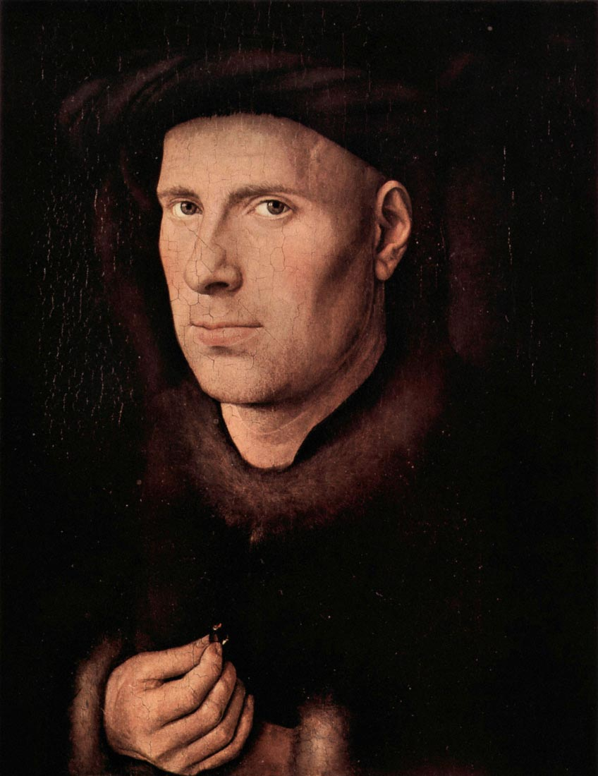 Portrait of Jan de Leeuw - Jan Van Eyck