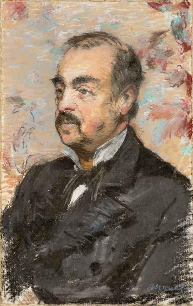 Portrait of Julien de la Rochenoire - Edouard Manet